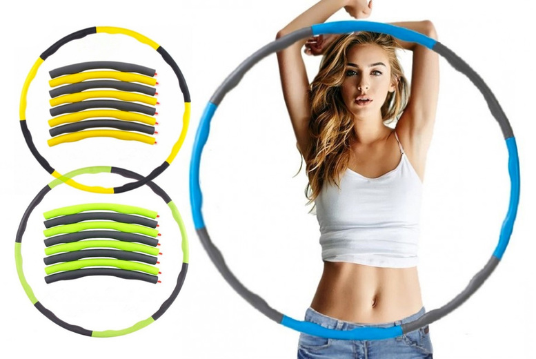 Image of £19.99 for a collapsible weighted hula hoop from Bear Called Bob