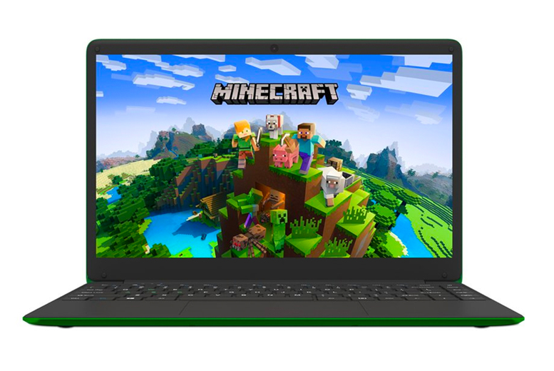 "Image of £179.99 instead of £230 for a refurbished 14"" Hypa Minecraft N4200 with 62GB SSD and 4GB RAM from Apple Super Store - save 22%"