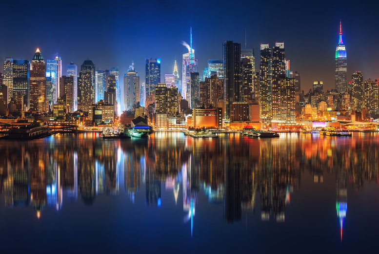 Image of A 4* New York City hotel stay with return flights from seven airports. From £549pp for three nights, from £579pp for four nights, or from £619pp for five nights, or secure your holiday with a deposit from £49pp - save up to 38%