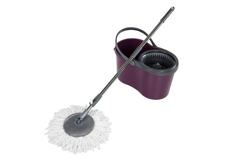 Image of £13.99 instead of £29.99 for a 360° spin mop bucket set from Monster Packaging - save 53%