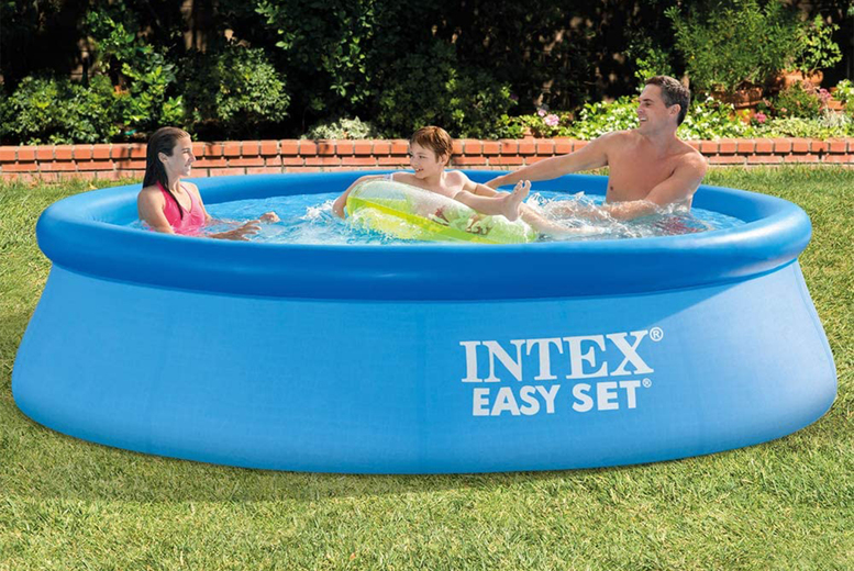 Image of From £22.99 instead of £59.99 for an Intex Easy Set pool from Gift Gadget - choose from three sizes - Save 58%