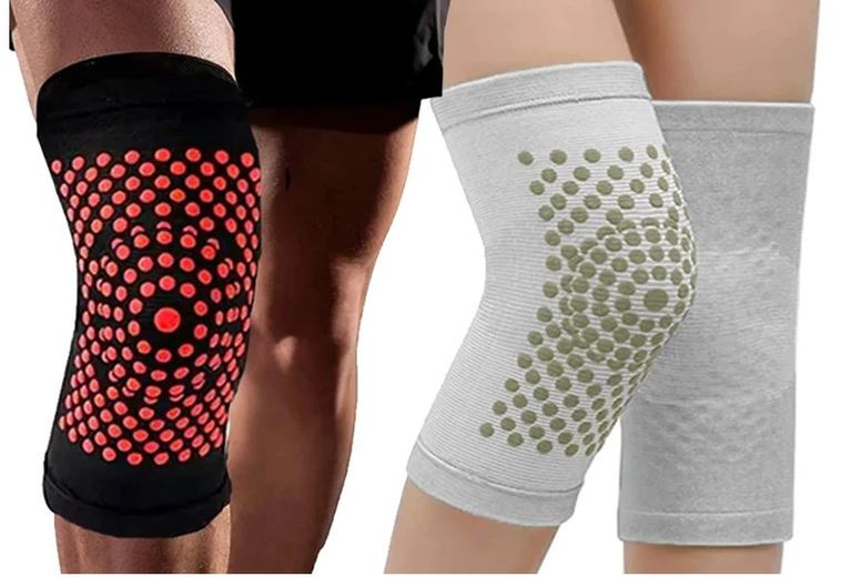 Image of From £5.98 for a pair of Self-Heating Comfortable Knee Warmers from Boni Caro - save up to 70%