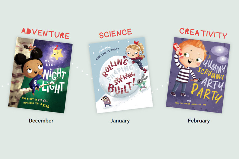 Image of £4.99 instead of £14.99 for a 'child's first' personalised book from Beans & Sparks Club