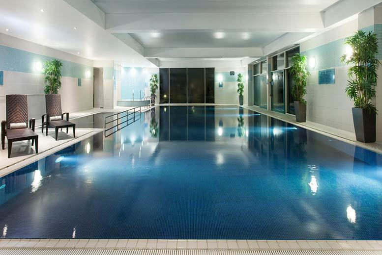 Image of £49 instead of £95 for a luxury spa day for one person at the 4* Crowne Plaza Hotel, Marlow including one 25-minute treatment, spa access, two-course lunch and £10 spa treatment voucher, or £95 for two people - save up to a fabulous 48%