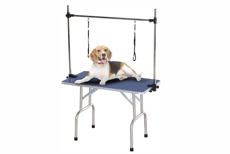 Image of From £89 for a Adjustable Dog Grooming Table - 2 Colours! from Mhstar Uk Ltd - save up to 39%