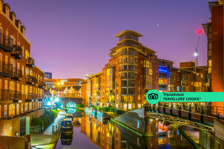 Image of A central Birmingham stay at Clayton Hotel Birmingham for two people with breakfast, a three-course dinner, a £20 bullring shopping voucher and late checkout. From £109 for one night, or from £179 for two nights - save up to 53%