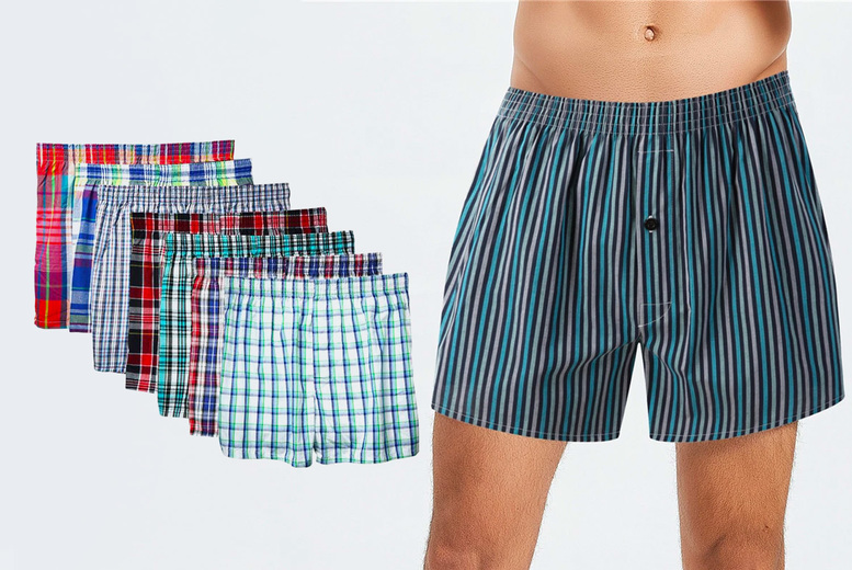 Image of £11.99 instead of £29.99 for a pack of four men's assorted boxers in sizes XS-2XL from Domo Secret - save 60%