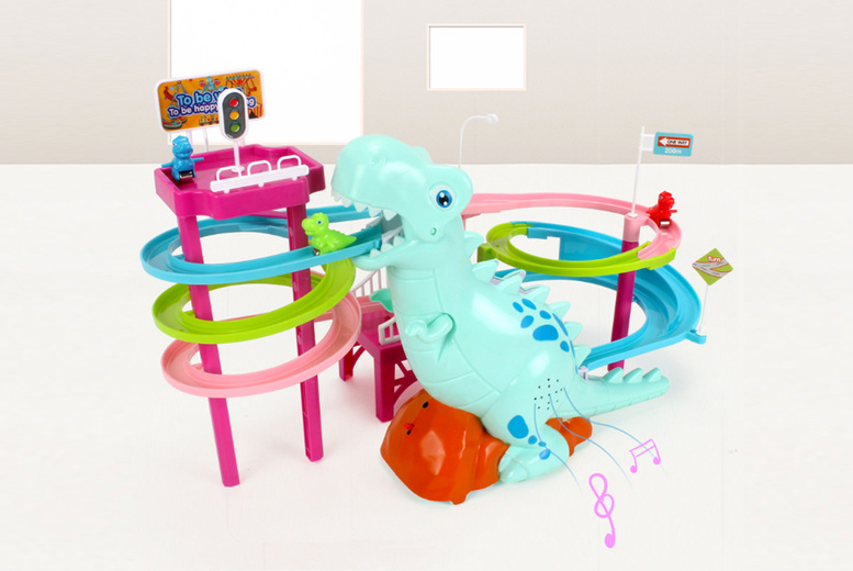 Image of £16.99 instead of £39.99 for a dinosaur racing track toy from Arther Gold - save 58%