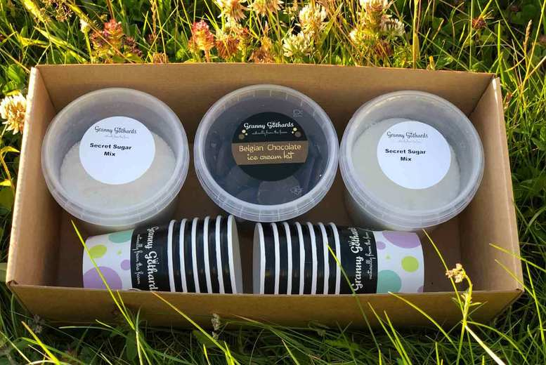 Image of £14 instead of £23.99 for an artisan ice cream making kit from Granny Gothards - save 42%