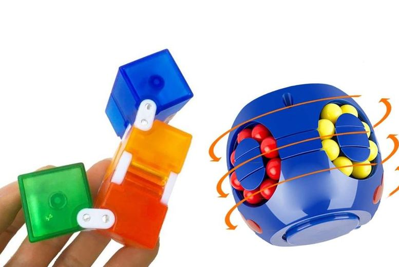 Image of From £2.99 for a gyro fidget puzzle wheel from ViVo Technologies - save up to 85%