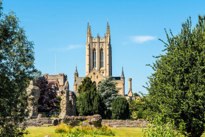 Image of A Bury St Edmunds, Suffolk at Dragonfly Hotel Bury St Edmunds stay for two people with breakfast. £49 for one night, £89 for two nights - save up to 46%