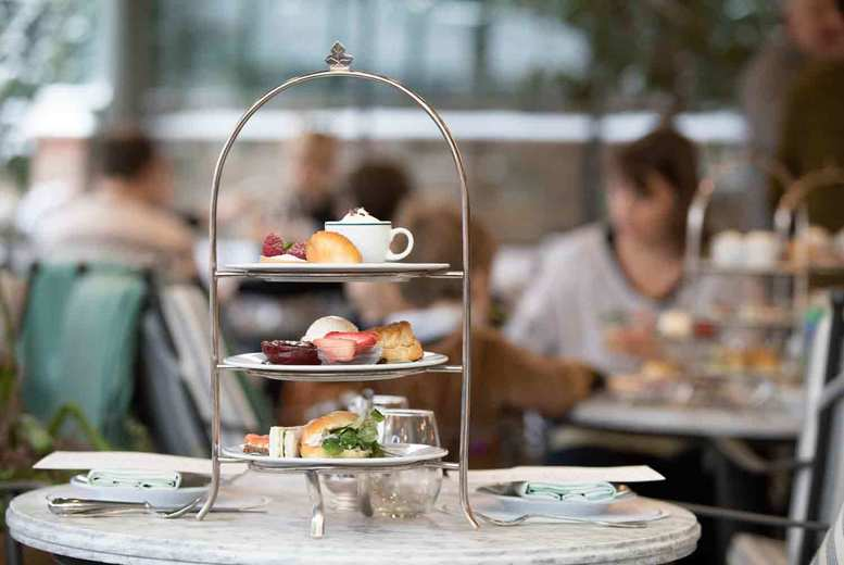 Image of £29 instead of £64.90 for afternoon tea for two people at Denham Grove Hotel including one bottle of Prosecco to share - enjoy the option of al fresco dining or even have your afternoon tea packed in to a picnic hamper, and save 55%