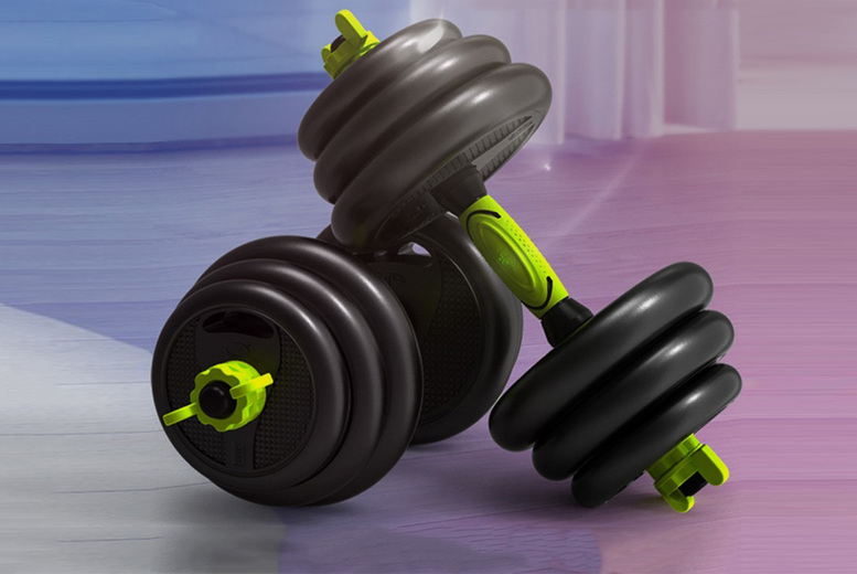 Image of £49.99 instead of £89.99 for an adjustable fitness weights and resistance bands set from Athletic Hub LTD! - Save 44%