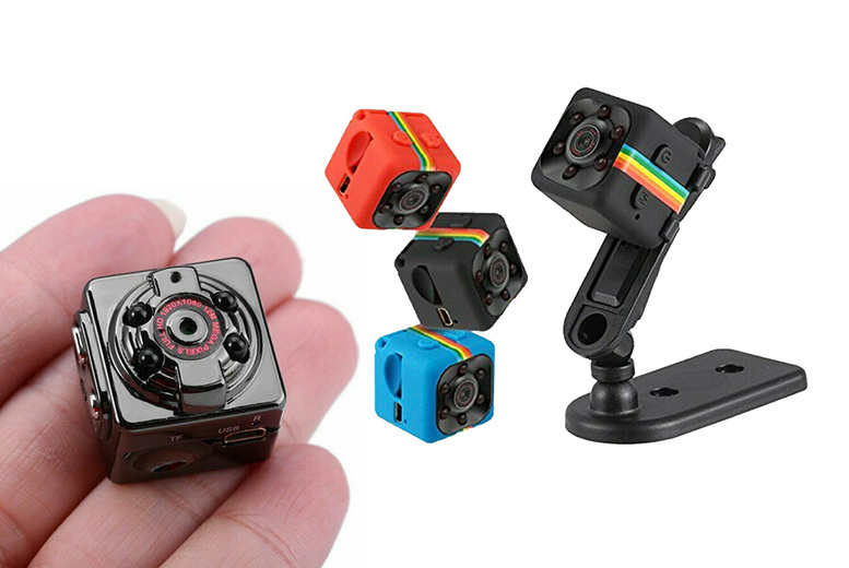 Image of £9.99 instead of £59.99 for an SQ11 mini spy digital camera in black, red or blue or £11.99 for a black SQ8 mini spy digital camera from Topgoodchain - save up to 83%