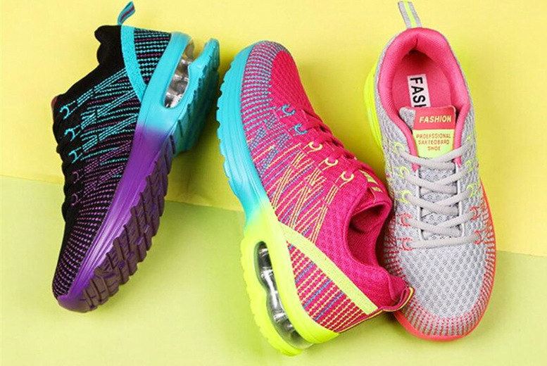 Image of £19.99 instead of £39.99 for a pair of women's running sneakers from Bear Called Bob - save 50%