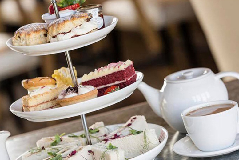 Image of £19.95 instead of £39.90 for an afternoon tea for two at Coulsdon Manor & Golf, £24.95 with a glass of Prosecco each - save up to 50%