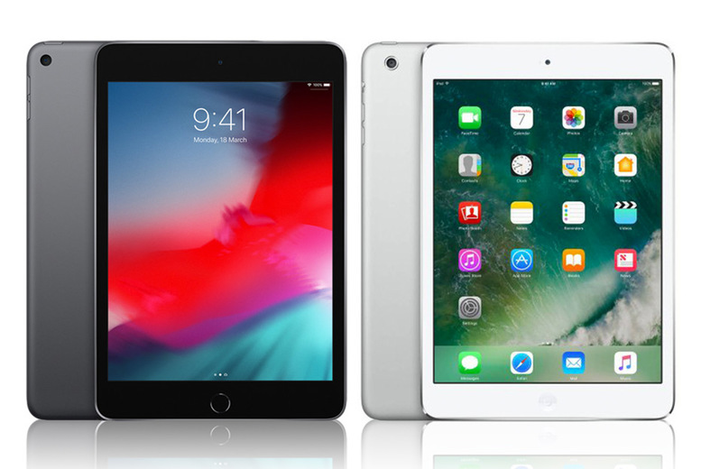 Image of £89 for a refurbished grade A Apple iPad Mini 16GB, £44.99 for a grade B iPad Mini, £95 for a grade B iPad Mini 2 or £124 for a grade A iPad Mini 2 from IncTablet!