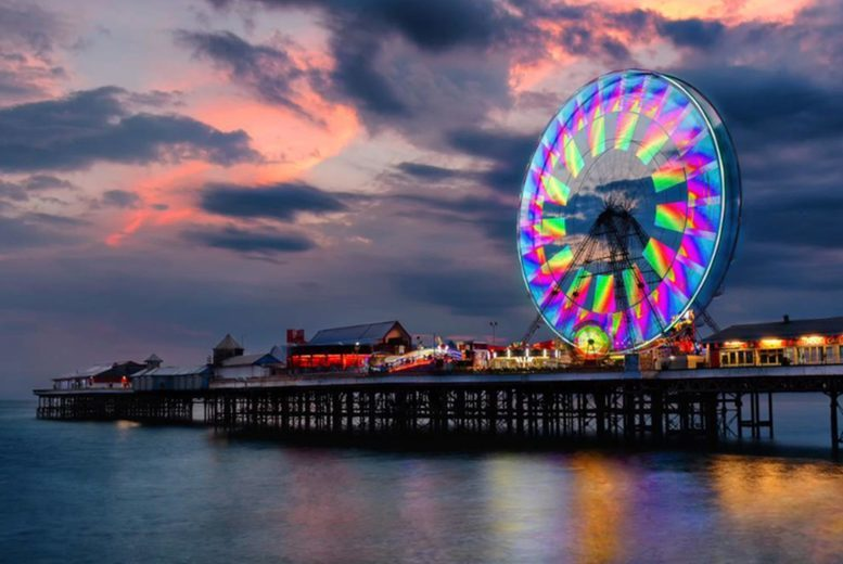 Image of A Blackpool seaside hotel stay at the Melville Hotel for two people with breakfast and dinner on each night. £139 for two nights, or £275 for four nights - save up to 37%