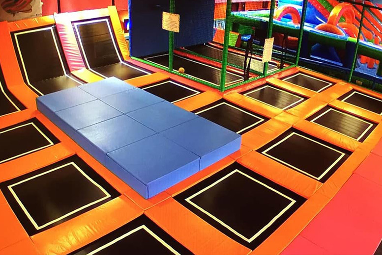 Image of £5 instead of £9.99 for a one-hour bounce session at Airobounce, Bradford - save 50%