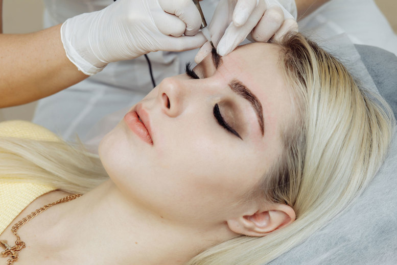 Image of £79 instead of £250 for one session of semi-permanent eyebrow make-up application or microblading at B's Skin & Beauty Laser Clinic, Wolverhampton - save 68%
