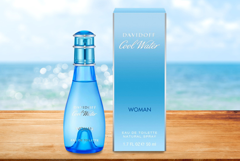 Image of £11.50 instead of £33.15 for a Davidoff Cool Water Women eau de toilette 50ml – save 65%
