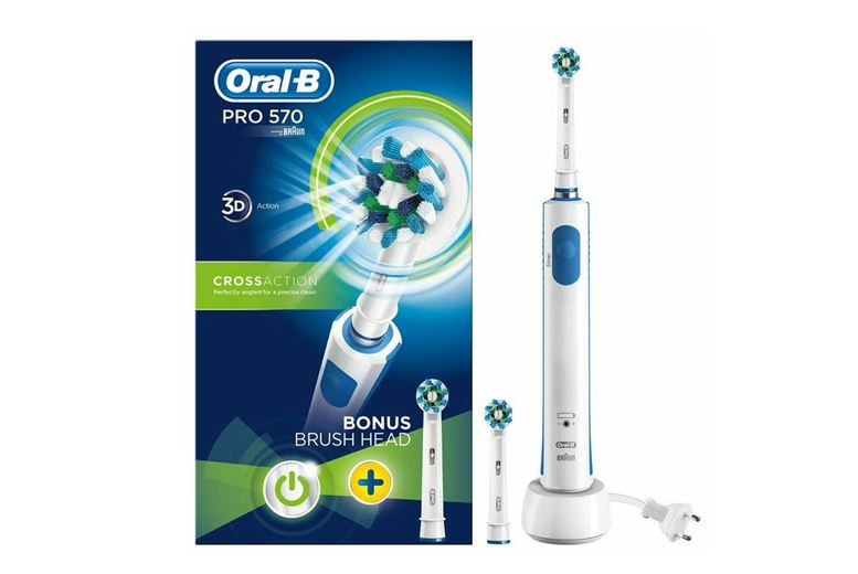 Image of From £22 for an Oral B Pro 570 Electric Toothbrush from Avant-Garde Brands Ltd - save up to 27%