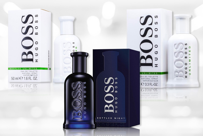 Image of From £22.99 instead of £51.50 for a 50ml Hugo Boss Bottled EDT from The Perfume Stop - choose from three scents and save up to 55%