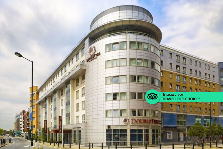 Image of A Chelsea, London stay at DoubleTree by Hilton Hotel London - Chelsea for two people with breakfast, one bottle of house wine to share and late checkout. From £110 for one night - save up to 56%