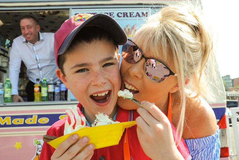 Image of £11 for a three-day ticket to Chester Food & Drink Festival at Chester Racecourse with a £20 restaurant voucher, £19 for two tickets or £14 for a one-day VIP ticket including a glass of Champagne, food voucher and more - save up to 50%