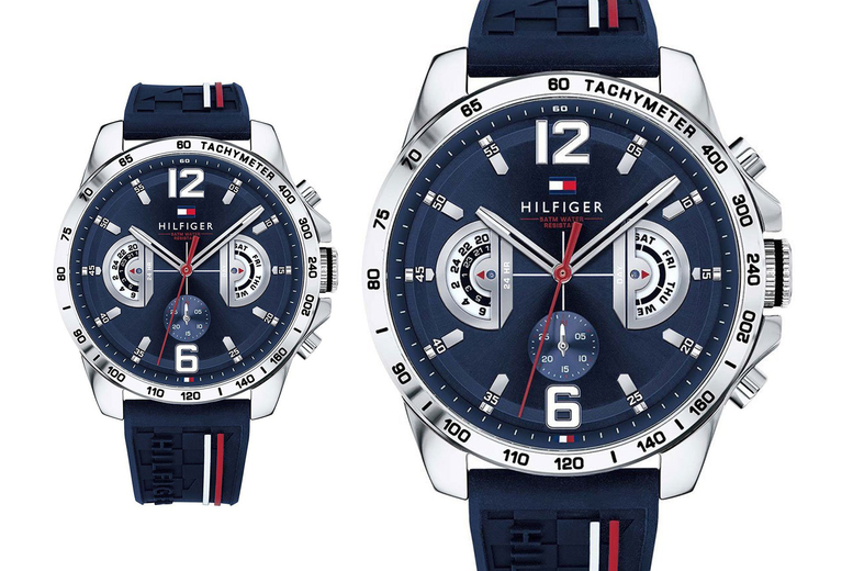 Image of £109 instead of £175 for a 46mm Tommy Hilfiger men's decker watch from CJ Watches - save 38%