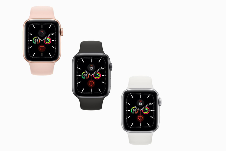Image of From £249 instead of £499.95 for a 40mm refurbished Apple watch series 5 or from £269 for a 44mm watch from Renew Electronics - choose from cellular and charger options!