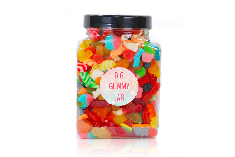 Image of £10 for a 1.7kg gummy sweet jar from Posted Sweets
