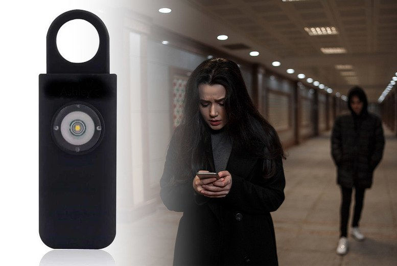Image of £11.99 instead of £29.99 for a self-defence alarm from Forever Cosmetics - save 60%