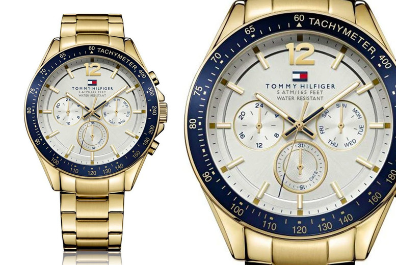 Image of £109 instead of £225 for a Tommy Hilfiger Luke men's watch from CJ Watches - save 52%