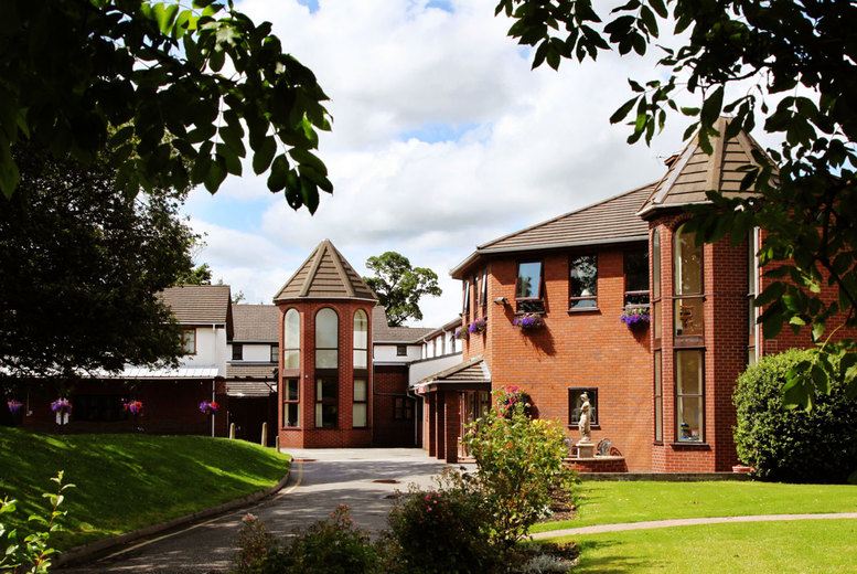 Image of A Mold, North Wales stay at Beaufort Park Hotel for two with two-course dinner and breakfast. £79 for an overnight stay, or £119 for a two-night stay - save up to 52%