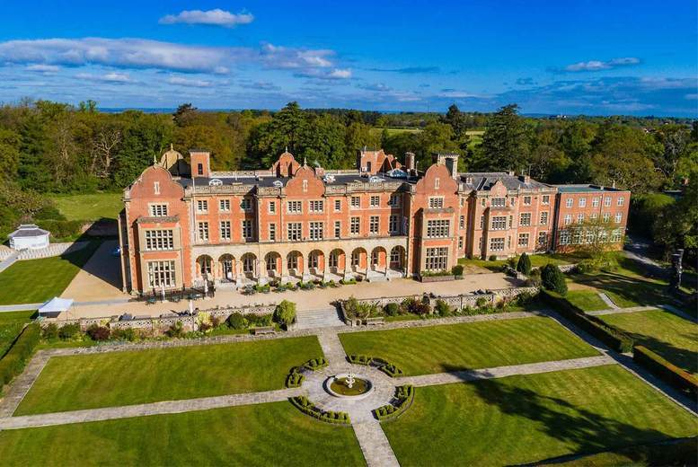Image of A Wokingham, Berkshire stay at Easthampstead Park for two people with breakfast, one two-course dinner each and late check out. £149 for one night, or £249 for two nights - save up to 44%