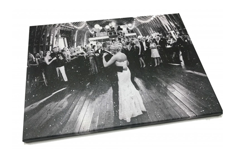 Image of From £9 instead of £34.99 for a diamond dust canvas print in your choice of three sizes from Colour House Print - savign you 74%!