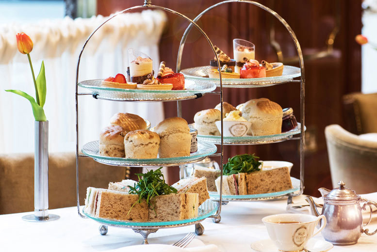 Image of £24.95 instead of £36.95 for a luxury afternoon tea for two people at Caffé Concerto. Or £29.95 to include a glass of Prosecco each - choose from 14 fabulous locations and save 32%