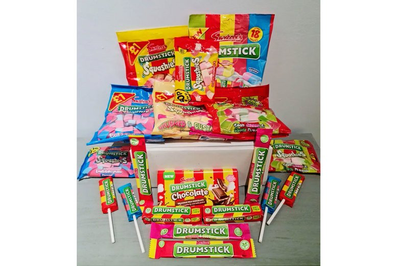 Image of £12 for a Drumstick sweets hamper box from Treats N Sweets UK
