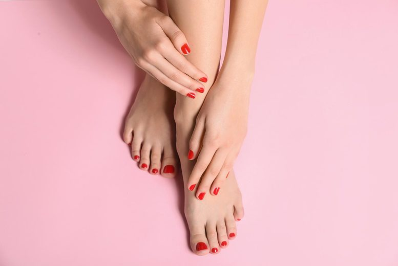 Image of £11 instead of £18 for a Shellac manicure or pedicure from C and M Laser Hair & Beauty, Leicester. Or £19 for a manicure and pedicure - save up to 39%