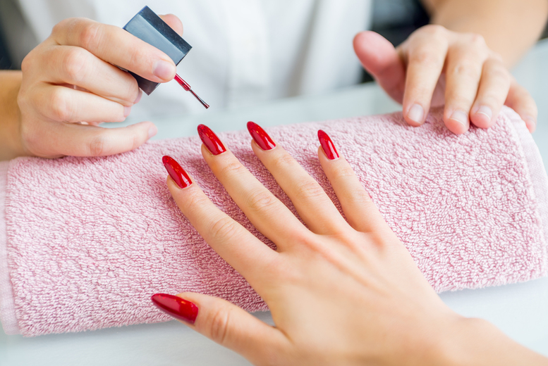 Image of £12 instead of £20 for the choice of a manicure or pedicure with gel polish at DJs Groom Room, Leicester, or £20 for both treatments - save up to 40%