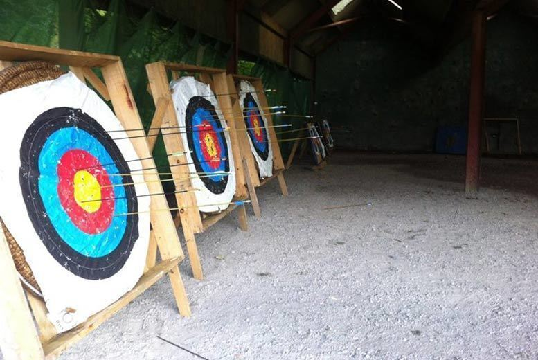 Image of £6 instead of £10 for a two-hour target sports session for a child including archery and air rifle shooting at Mountain Monkeys, St. Helens, or £10 for an adult - save 40%