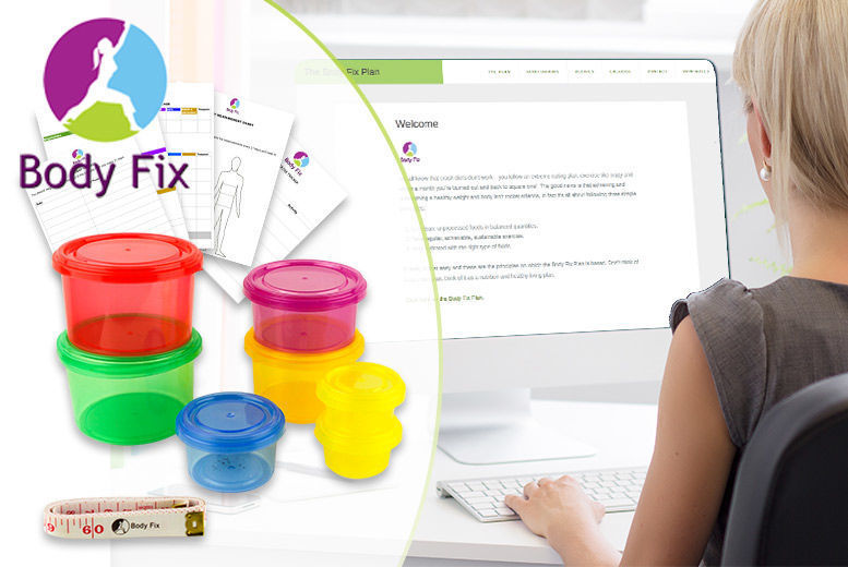 Image of £12 instead of £25.99 for a Body Fix Portion Control Set & Diet Plan from GetGorgeous - save 54%