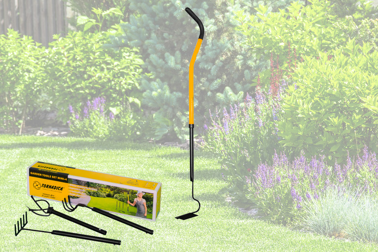 Image of £39.99 for a Tornadica 4-in-1 garden tool with telescopic handle from Stockpoint