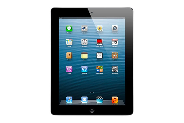 Image of £84.99 for a refurbished Apple iPad 4 in black from Inc Tablet