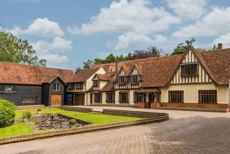 Image of A Bishop's Stortford stay at the 4* Great Hallingbury Manor for two people with breakfast and 11am late check out. £59 for an overnight stay, or £109 for a two-night stay - save up to 34%