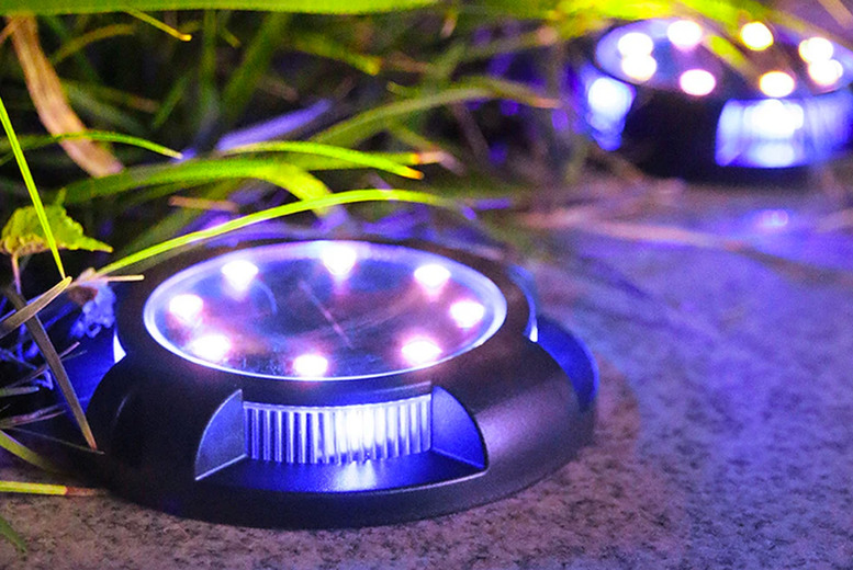 Image of From £6.99 for solar-powered deck light a from Fantasy Supply - save up to 71%