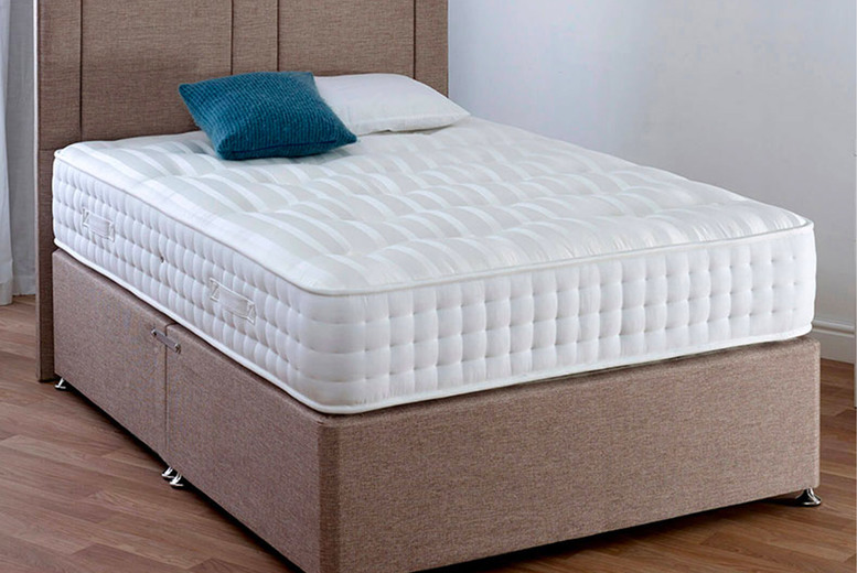 Image of From £159 for a orthopaedic back support 'millionaire' mattress from The Furniture Department - choose from four sizes and save up to 69%