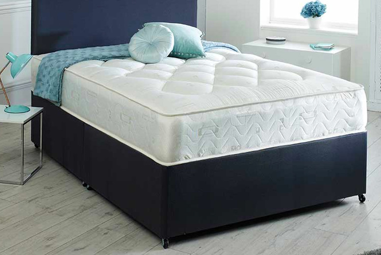 Image of From £129 for a Supreme 3000 deep quilted luxury mattress in single, small double, double or king from The Furniture Department - save up to 71%
