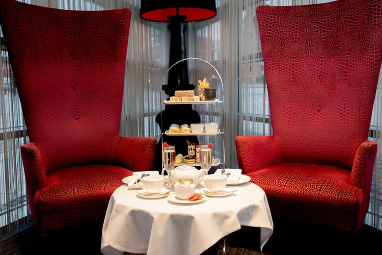 Image of £24.95 instead of £39.90 for a traditional afternoon tea for two people at 4* Clayton Hotel, Birmingham, or £29.95 including a glass of Prosecco each - save up to 37%